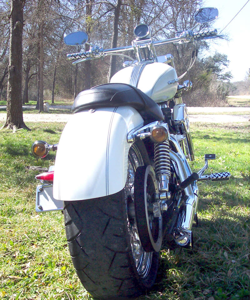 WIDE TIRE KIT - HARLEY SPORTSTER FAT TIRE KITS