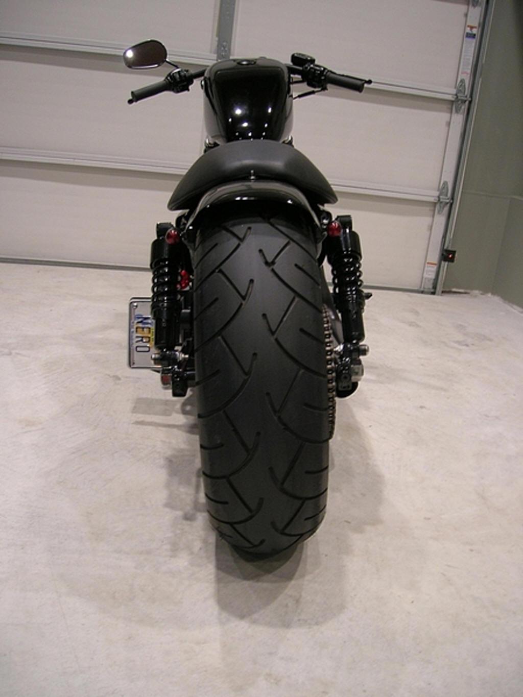 Nig on Sportster Wide Tire Chopper