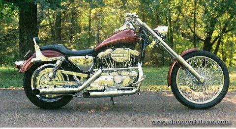ame chopper kits for: kawasaki motorcycles