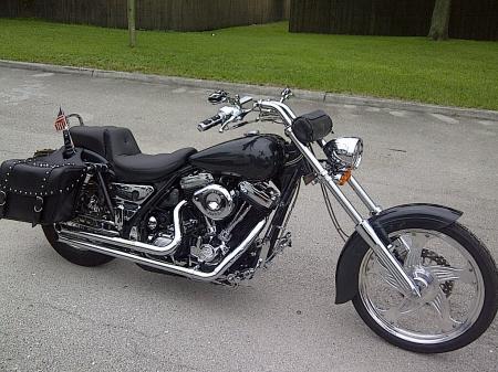156 Harley Fxr 18 Degree W 6s Increase In Length 10