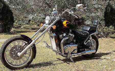 Photo # 7 Suzuki VS800 Intruder Chopper