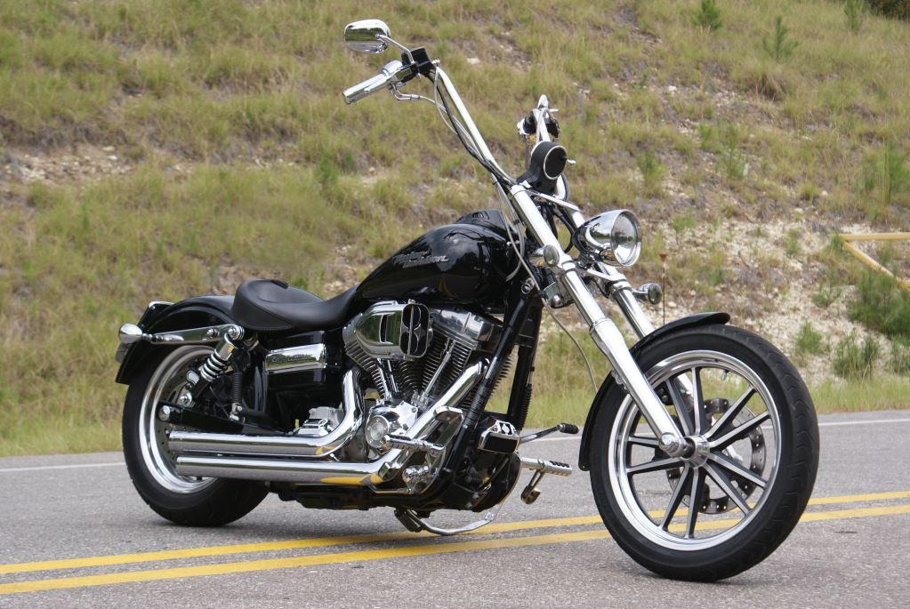 Dsc on Sportster Wide Tire Chopper