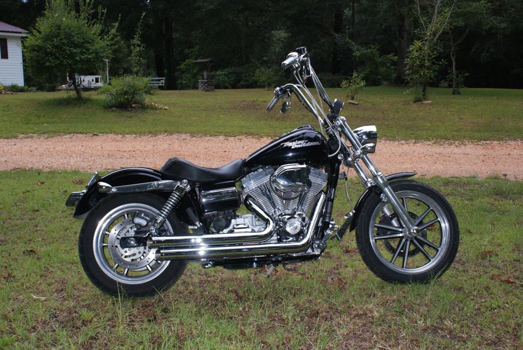 Before on Harley Fxr