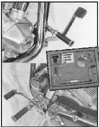 Forward Control Extension Bracket V-Twin 27-0594
